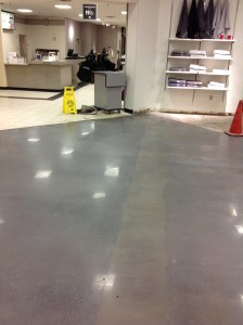 Polished Concrete - JC Penny - Cuviello Concrete