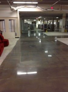 Concrete Polishing -JC Penny - Cuviello Concrete