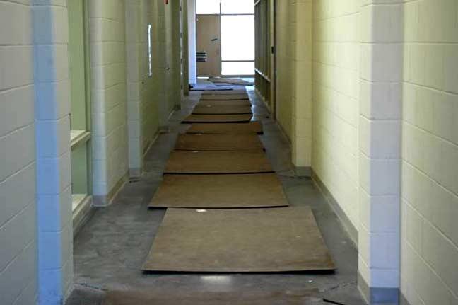 Improper Floor Protection