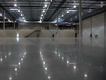 Highly Polished Concrete